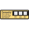 DO-90308-12 Thermal Disinfection Indicator, 160, 170, 180 ° F, dual scale (16 labels per pack)