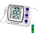 Representative photo only Digi Sense Calibrated Jumbo Refrigerator Freezer Thermometer 5 mL bottle probe