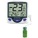 Digi Sense Calibrated Jumbo Fridge Freezer Digital Thermometer bottle probe - 94460-82