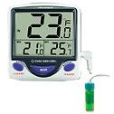 Digi Sense Calibrated Jumbo Fridge Freezer Digital Thermometer 5 mL bottle probe - 94460-83