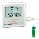 Digi Sense Calibrated Sentry Triple Display Thermometer Fahrenheit 5 mL bottle - 94460-96