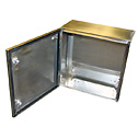 BUD INDUSTRIES - SNB-3743-SS                                                                                                                                            - Bud SNB3743 NEMA 4X Stainless Steel Enclosure