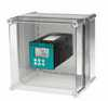 Representative photo only Cole Parmer Polycarbonate Enclosure With Cutout For One 1 4 Din Meter controller 11 w X 7 5 d X 7 1 h