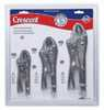 DO-97105-69 Crescent 3 Piece Locking Pliers Set