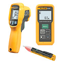 Representative photo only Fluke 414D 62 MAX 1AC II Distance Meter and IR Gun Kit