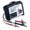 MIT310 EN Insulation Tester 250V 500V 1kV Incl Test Lead Set Crocodile Clips (Representative photo only)