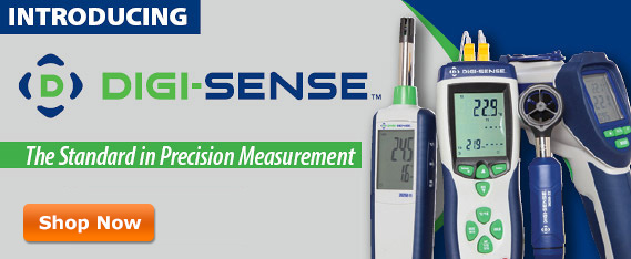 Introducing Digi-Sense, the standard in precision measurement