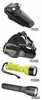 Representative photo only L1 LED Water Resistant Flashlight Yellow Includes 4LR44 1 5v Alkaline Coin Cells Breakaway Safety Lanyard Pocket Clip with Red and Blue Night Vision Disks
