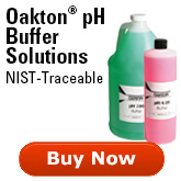 Oakton pH Buffer Solutions