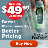 Oakton EcoTestr Pocket Testers